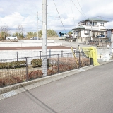 小泉第三期分譲地:全景(東側公園より撮影)
